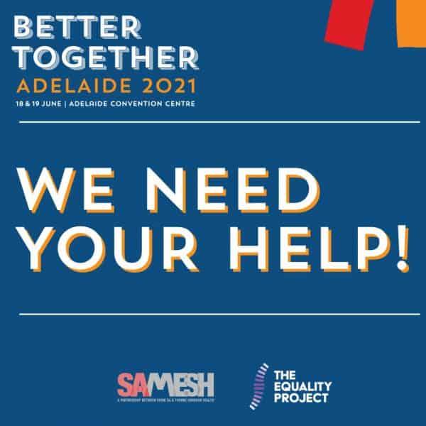 Better Together Volunteer Recruitment